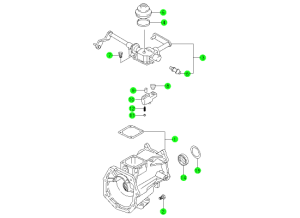 T5 Transmission Case NV5600 Transmission wiring diagram