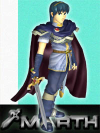 Super Smash Bros. Melee Marth