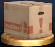 Cardboard box  SmashWiki the Super Smash Bros wiki