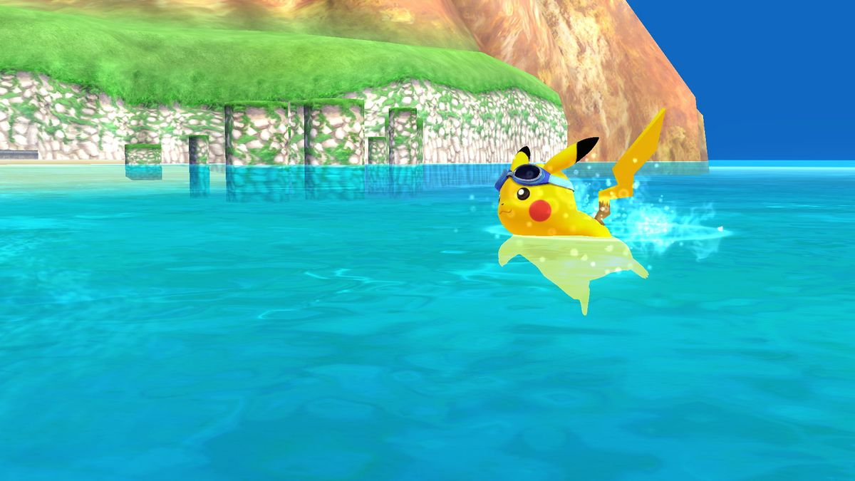 Swimming  SmashWiki the Super Smash Bros wiki