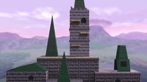 Hyrule Castle SmashWiki The Super Smash Bros Wiki