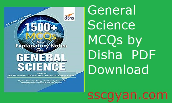 General Science MCQs by Disha PDF Download