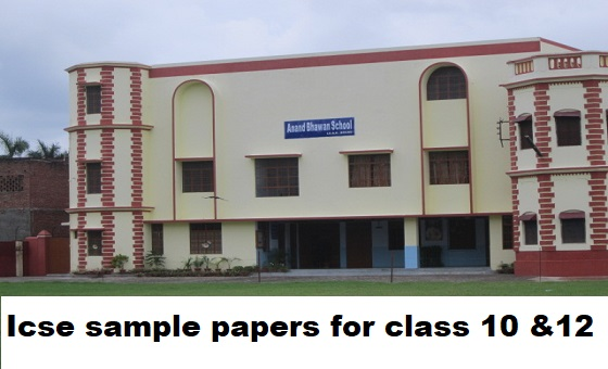 Icse sample papers for class 10 &12