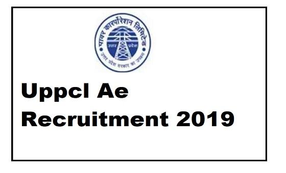 Uppcl Ae Recruitment 2019