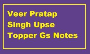 Veer Pratap Singh