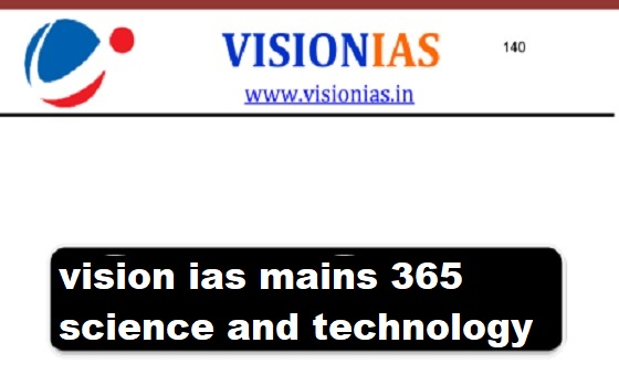 vision ias mains 365 science and technology 2019 Pdf