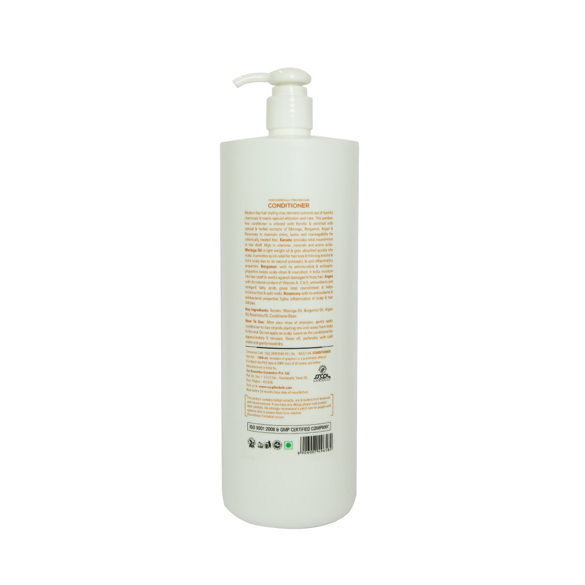 Conditioner For Chemically Treated Hair SSCPL Herbals
