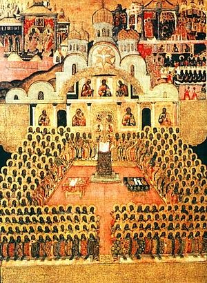 OCT 15 & 16: SUNDAY OF THE FATHERS OF THE 7TH ECUMENICAL COUNCIL & COMMEMORATON OF LUKE APOSTLE – EVANGELIST (22ND SUNDAY AFTER PENTECOST)