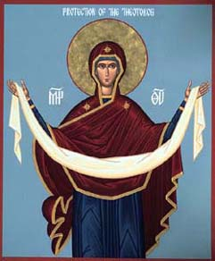 SEPT 30 – OCT 1: FEAST OF THE PROTECTION OF THE THEOTOKOS