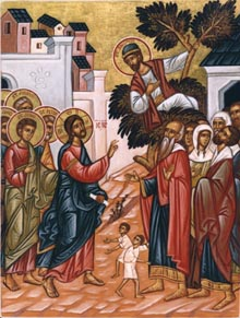 JAN 28 & 29: SUNDAY OF ZACCHAEUS (37TH SUNDAY AFTER PENTECOST) & COMMEMORATION OF THE 3 HOLY HIERARCHS