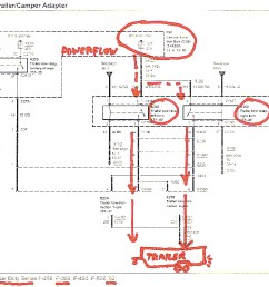 trailer wiring question page 2 diesel forum 2005 ford f450 fuse panel diagram 2005 ford f450 [ 1024 x 860 Pixel ]