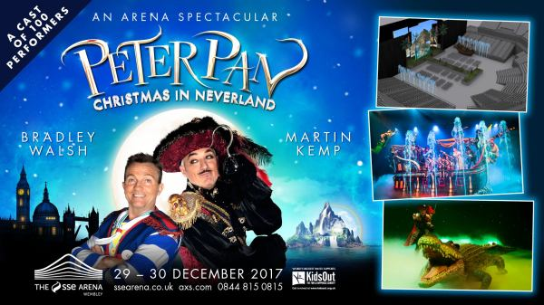 Peter Pan- Arena Spectacular Sse Wembley