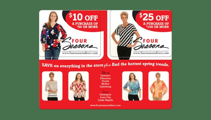 Women's Clothing Standard Postcard