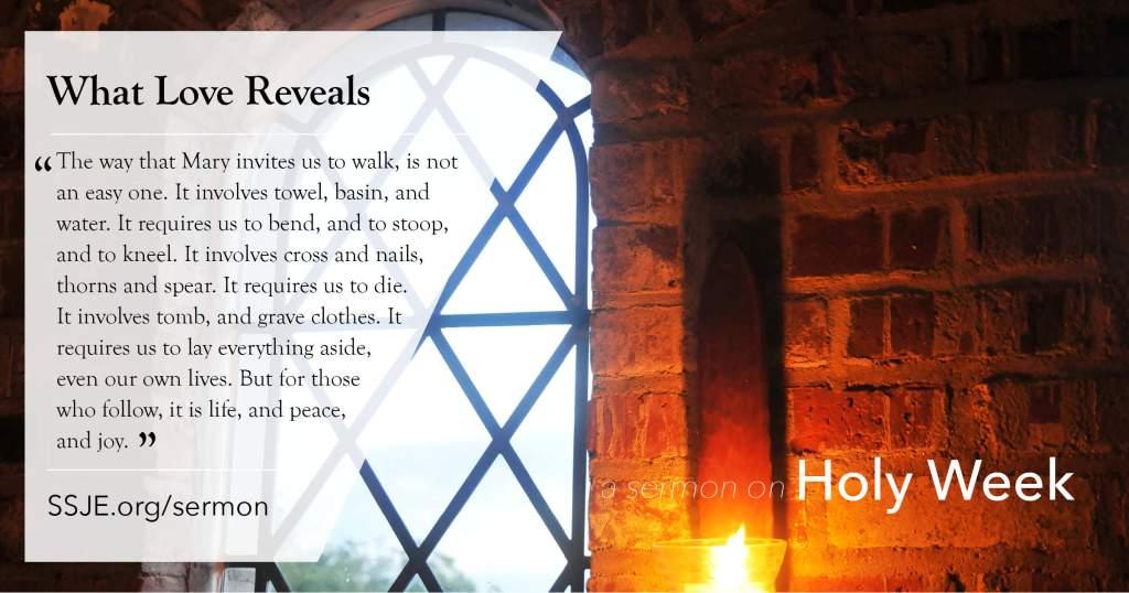 Holy Week – SSJE
