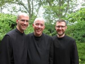 Brs. Luke Ditewig, Jim Woodrum, Keith Nelson on the occasion of Br. Jim's Life Profession