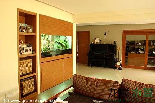 kitchen crocks designer portland oregon 用草缸来分隔厨房和客厅水草缸是草友们的不二之选 水景堂