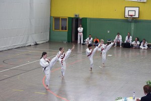 Grundschule bei der Danprüfung am 10. Mai in Alsdorf