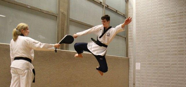 Anmeldung in der Taekwondo Abteilung beim SSK Kerpen