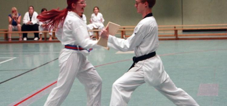 Gürtelprüfung des SSK Taekwondo-Teams bei tropischer Hitze