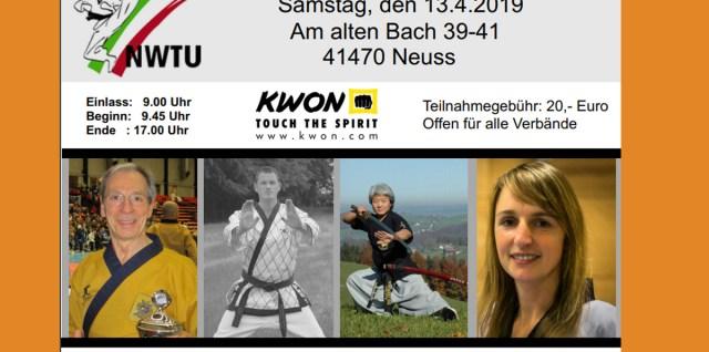 Taekwondo Kerpen: Das SSK-Taekwondo-Team beim Breitensport-Lehrgang der NWTU in Neuss