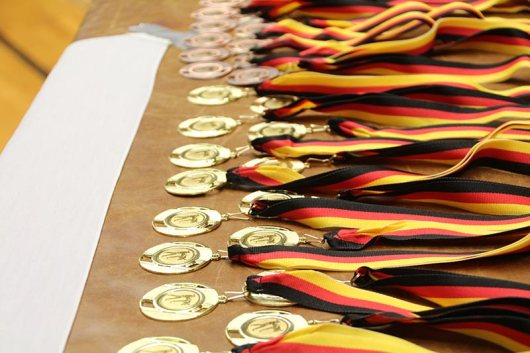 Weihnachtsturnier: Die Medaillen