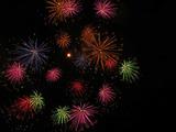 鹿島の花火2009(6) : 1024 * 768 pixels, 100KB