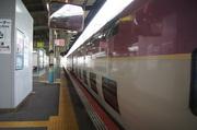 松江駅に入ったサンライズ出雲