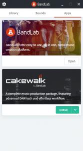 BandLab Assistantアプリ