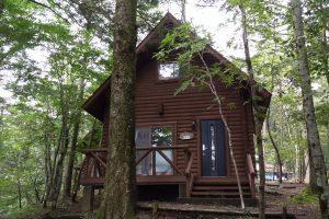 静岡県県民の森:ログハウスに宿泊