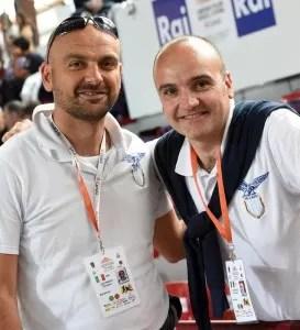 Gianni e Vincenzo Castrucci Foto di Augusto Bizzi