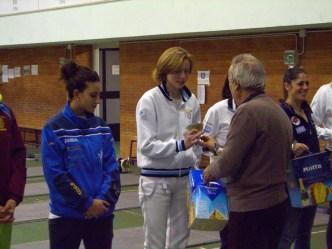 Susan Maria Sica 5^ classificata nella 3^ Prova di Spada Femminile della VII edizione del Trofeo del Sabato