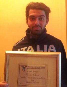 Enrico Berrè socio onorario