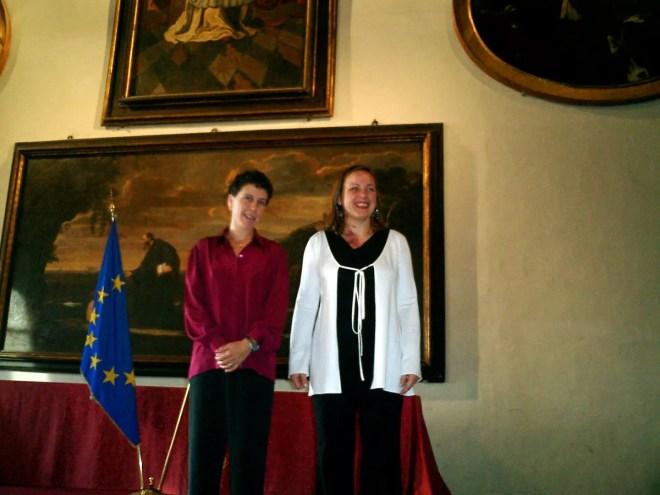 Giovanna Ciacchi e Roberta Castrucci -  Foto G. Trombetta