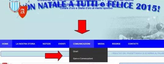 comunicazioni sul sito