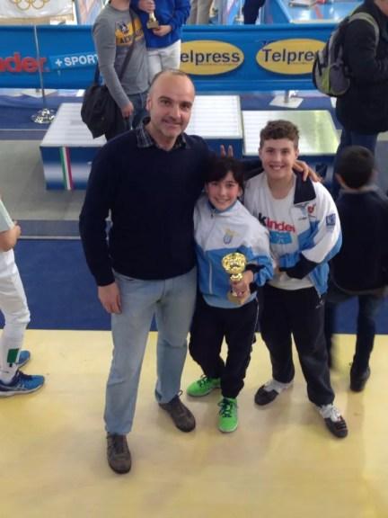 Baronissi 10.04.2015 Alessia Piccoli e Leonardo Amore con il M° Vincenzo Castrucci