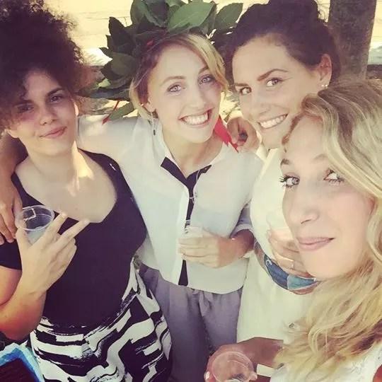 Supporter d'eccezione per Marta: Camilla Fondi, Paola Guarneri e Sofia Ciaraglia