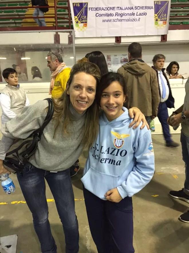 23.10.2015 Valentina Vezzali e Alessia Piccoli  (foto M.Piccoli)