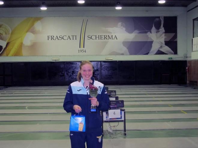 27.12.2015 Frascati VIII Trofeo del Sabato Susan Maria Sica