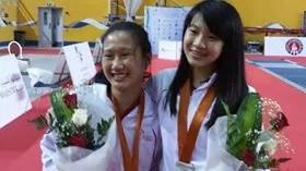 Giochi Asiatici 2016 Jessica Ong e Iwee