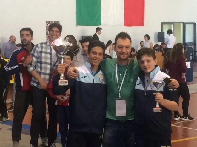 Roma 21.05.2016  Vincenzo Pellegrini e Andrea Marini con il M° Guido