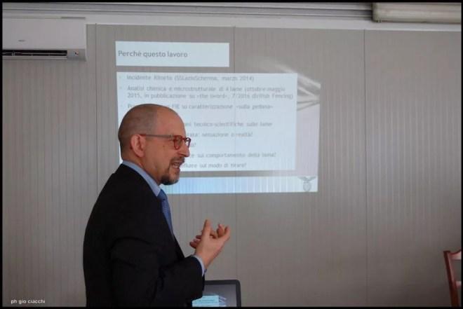 11.06.2016 Roma Il Dott. Mazzarano durante la presentazione (foto G.Ciacchi)