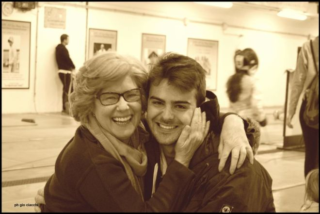 Matilde Lerro con Damiano Rosatelli  (foto G.Ciacchi