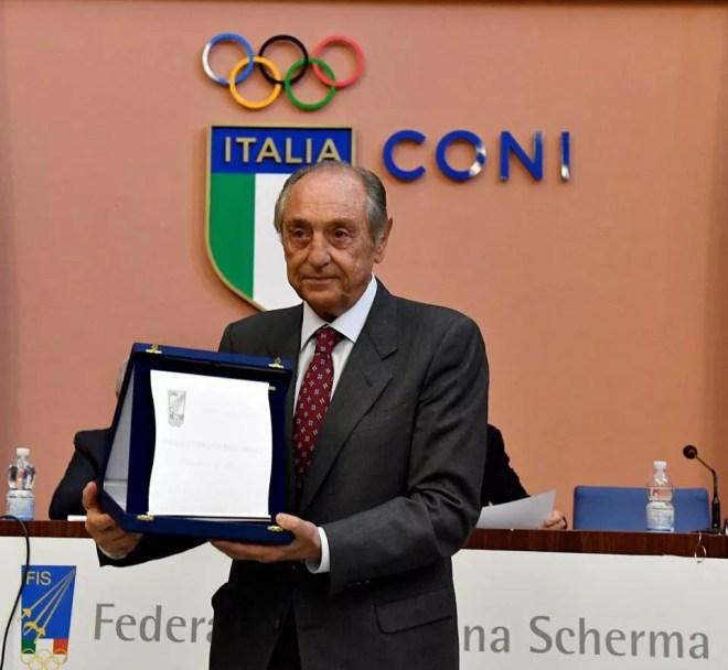 20 novembre 2016  Assemblea elettiva FIS Il prof. Avv. Emmanuele F.M. Emanuele  (foto Bizzi per Federscherma)