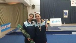 Foggia 1 aprile 2017 campionato Italiano U23 Veronica Palombo e Camilla Schina