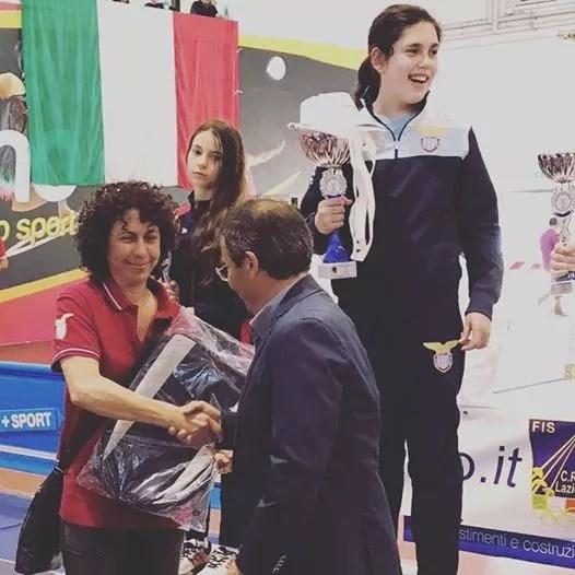 Campionato Regionale Lazio Categoria bambine spada
