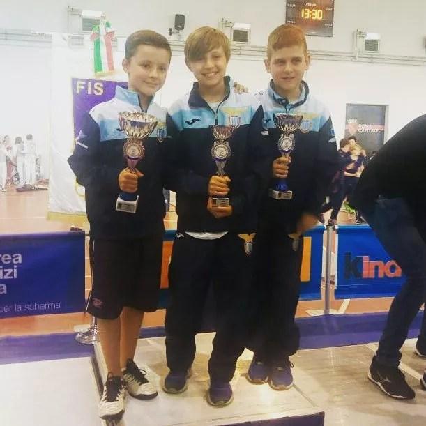 Campionato Regionale Lazio Categoria giovanissimi fioretto