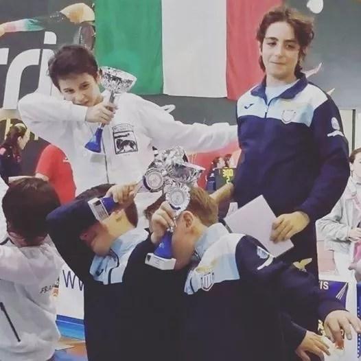 Campionato Regionale Lazio Categoria maschietti sciabola