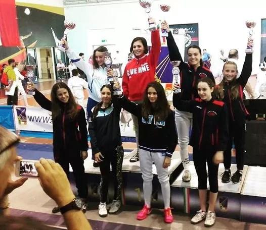 Campionato Regionale Lazio Categoria ragazze spada