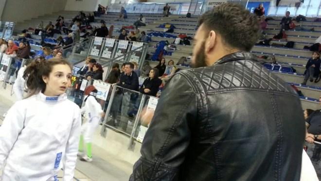 01.05.2017 Riccione Gran Premio Giovanissimi Lucrezia Paulis con Tullio De Santis (foto G.Ciacchi)