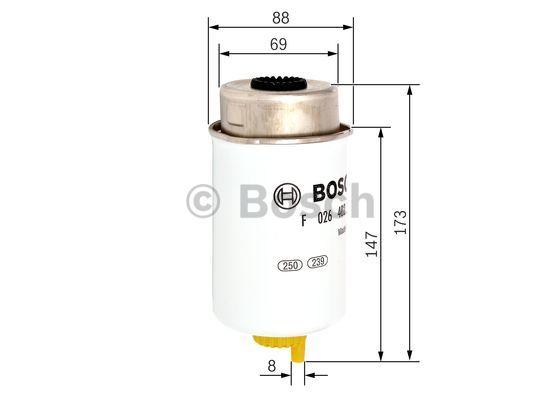 cav fuel filter fittings